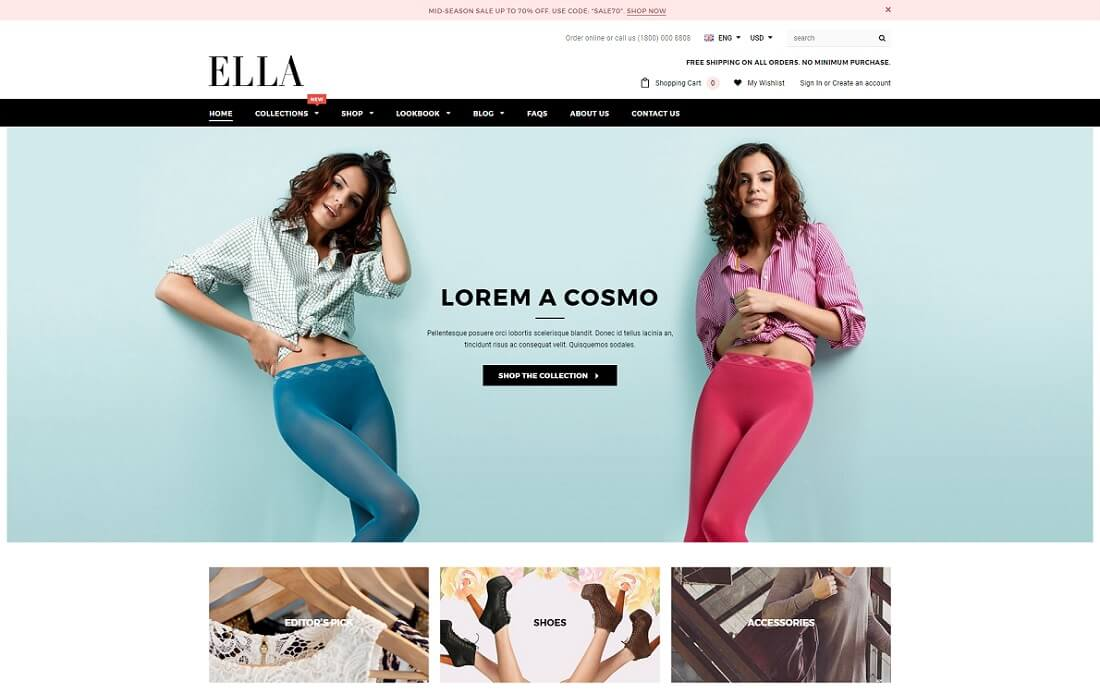 ella fashion shopify theme