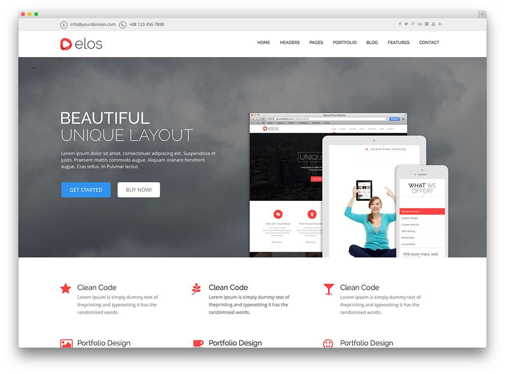 40+ Awesome Flat Design WordPress Themes 2017 - Colorlib