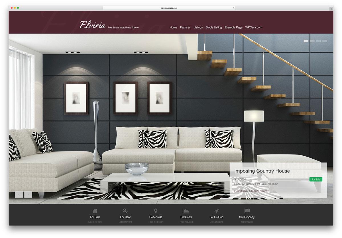 elviria-simple-real-estate-wordpress-template