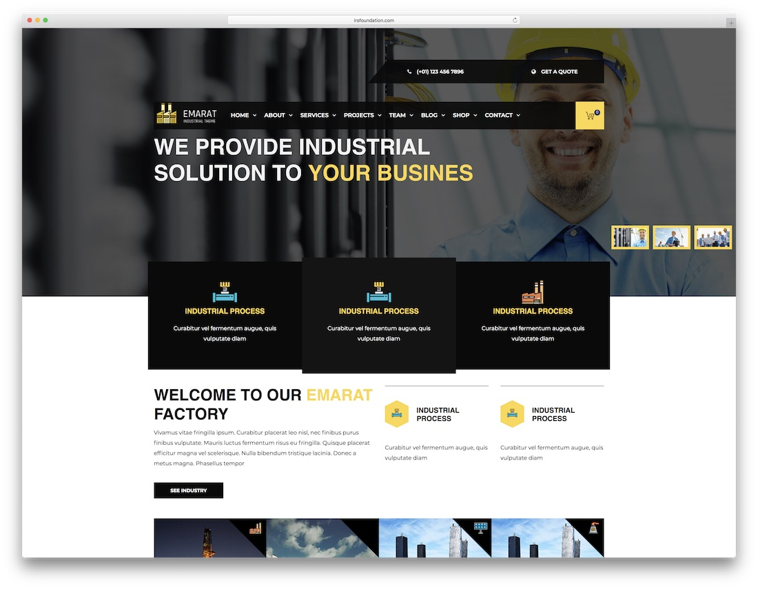 emarat cheap wordpress theme