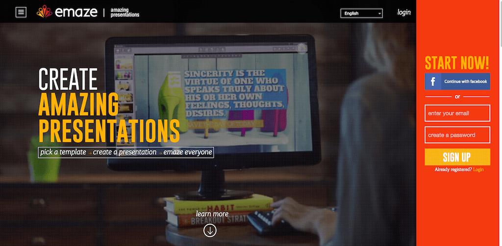 Emaze Online Presentation Software Create Amazing Presentations