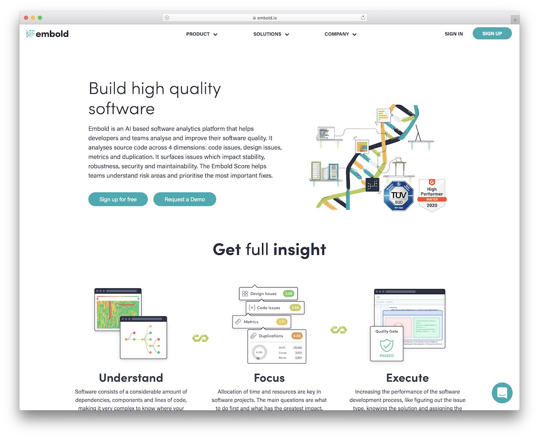 embold code quality testing tool