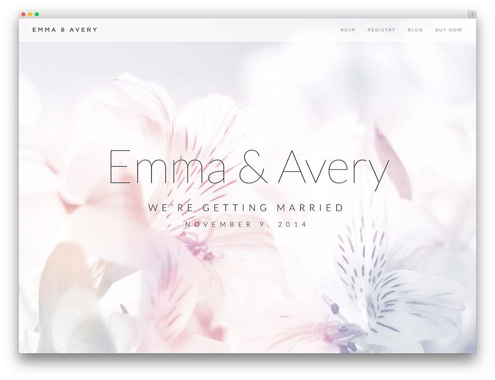 20 best wordpress wedding events amp marriage themes 2017