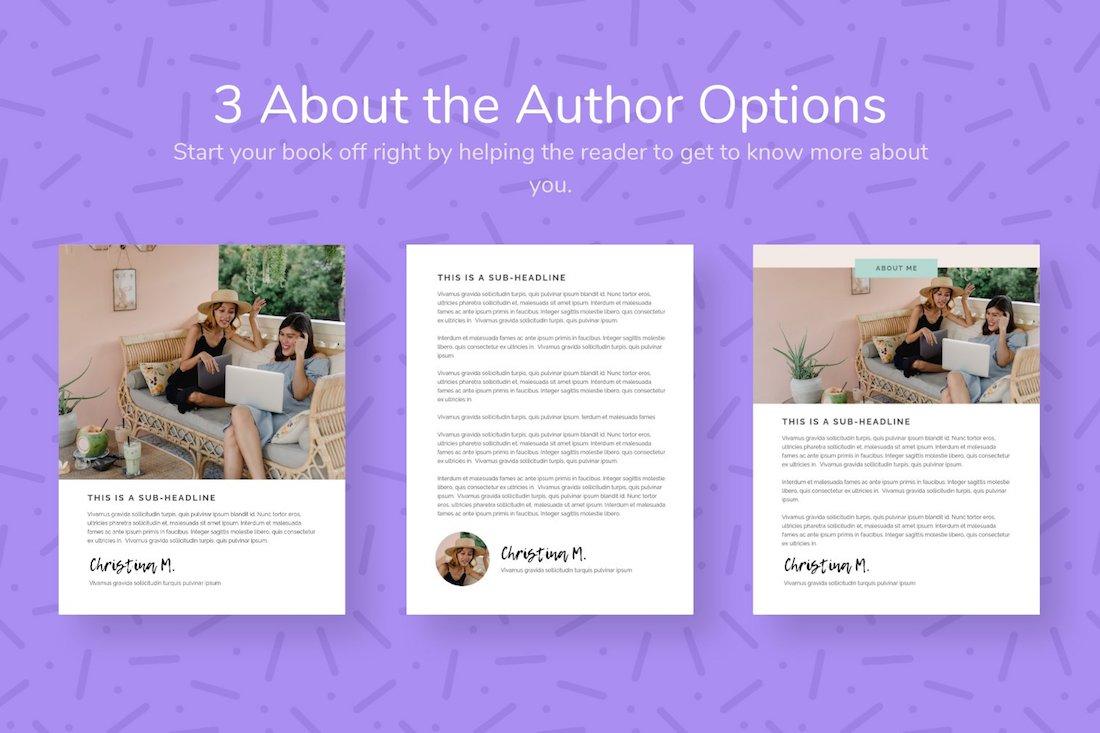 emma ebook template