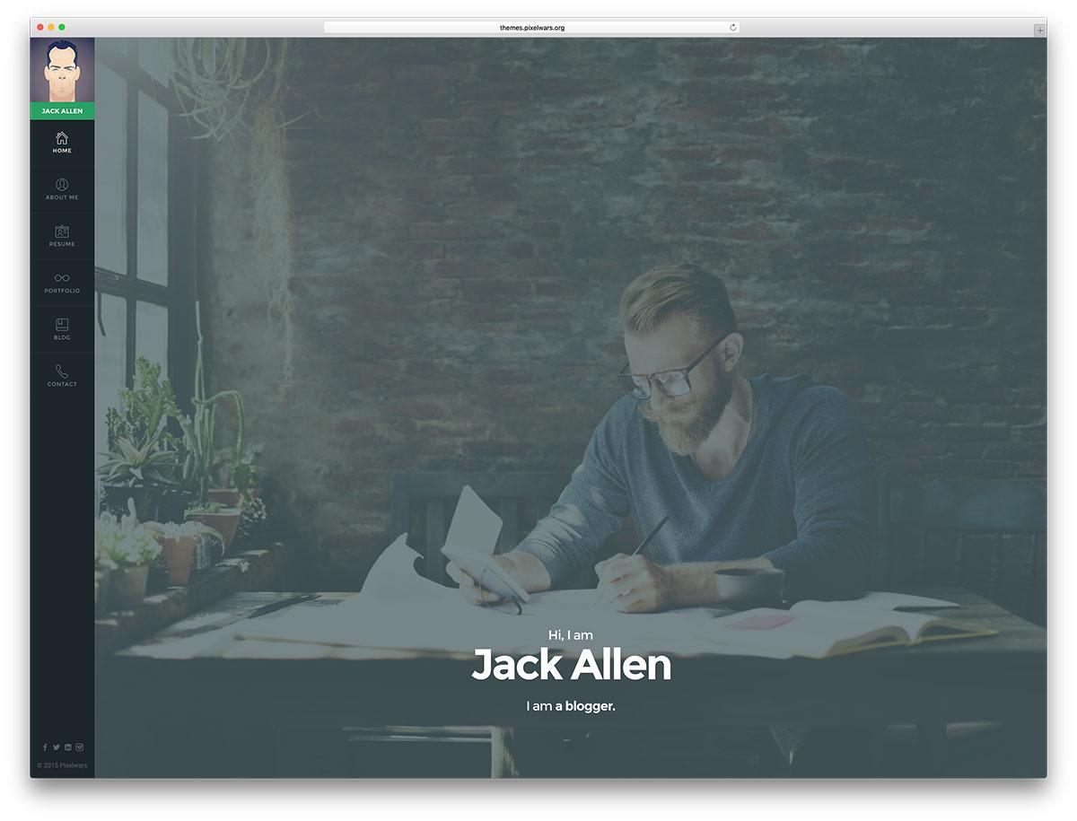 empathy-fullscreen-vcard-website-template