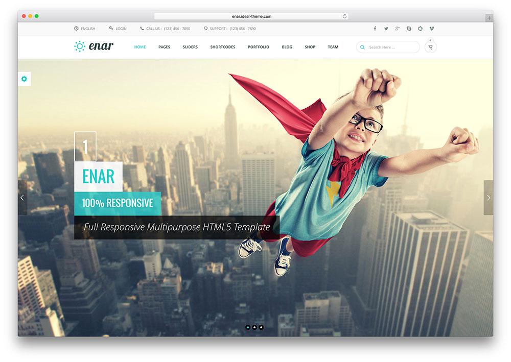 20 Responsive Bootstrap HTML5 Website Templates 2017 - Colorlib