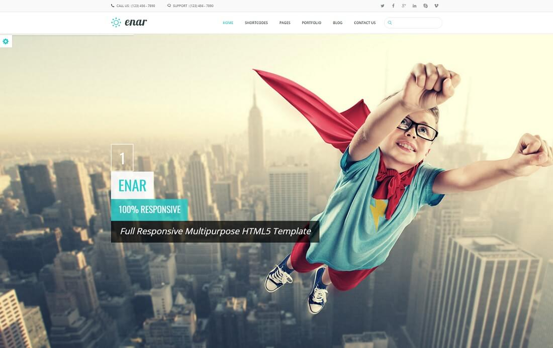 enar drupal business template
