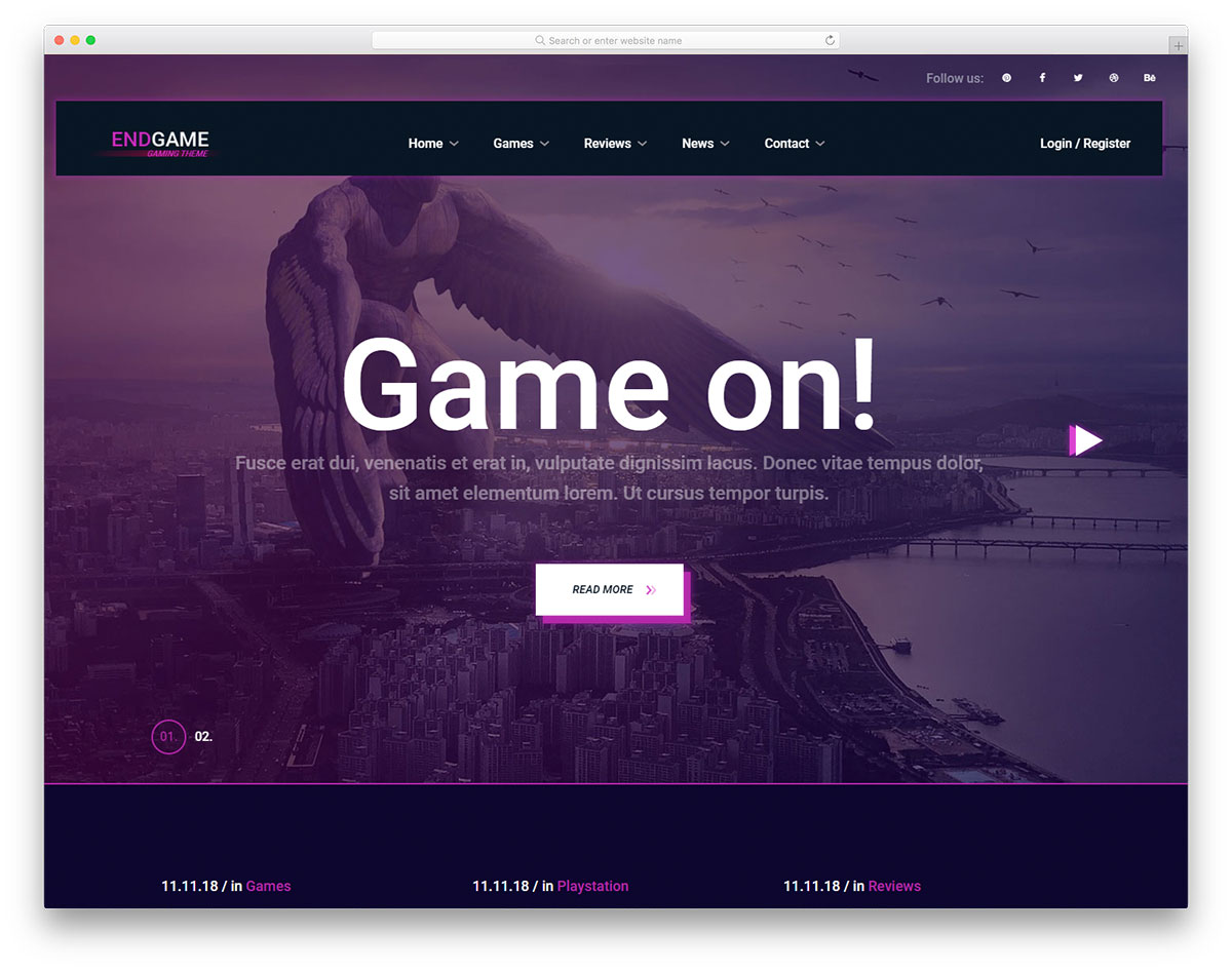 70+ Best Free Bootstrap Templates To Create Modern Websites 2019