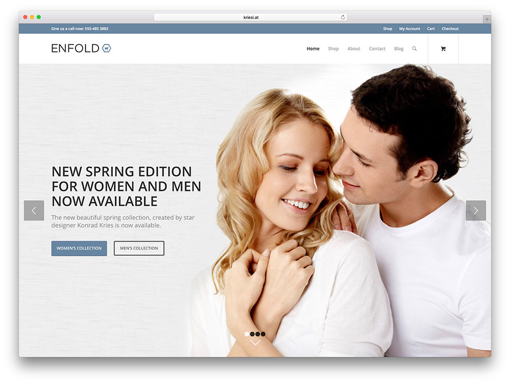 enfold - multipurpose ecommerce theme