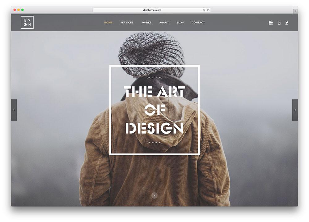 enigma-clean-portfolio-html-website-template