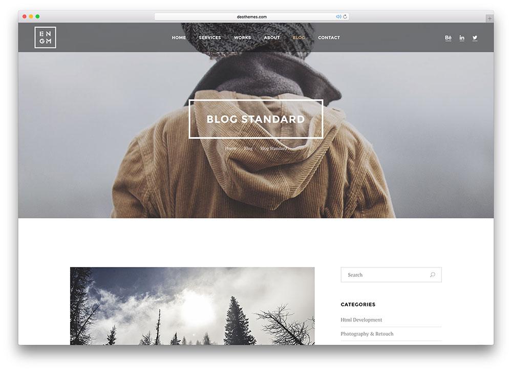 enigma-creative-html5-blog-template