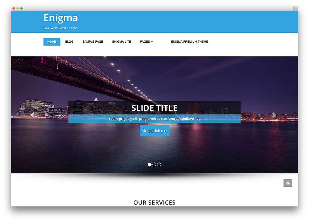 enigma - farming wp theme