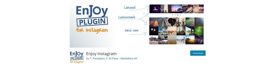 enjoy instagram plugin