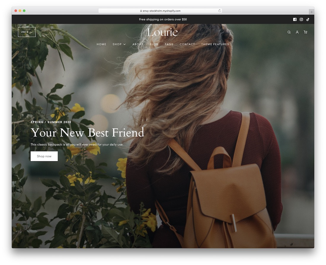 envy shopify subscription theme