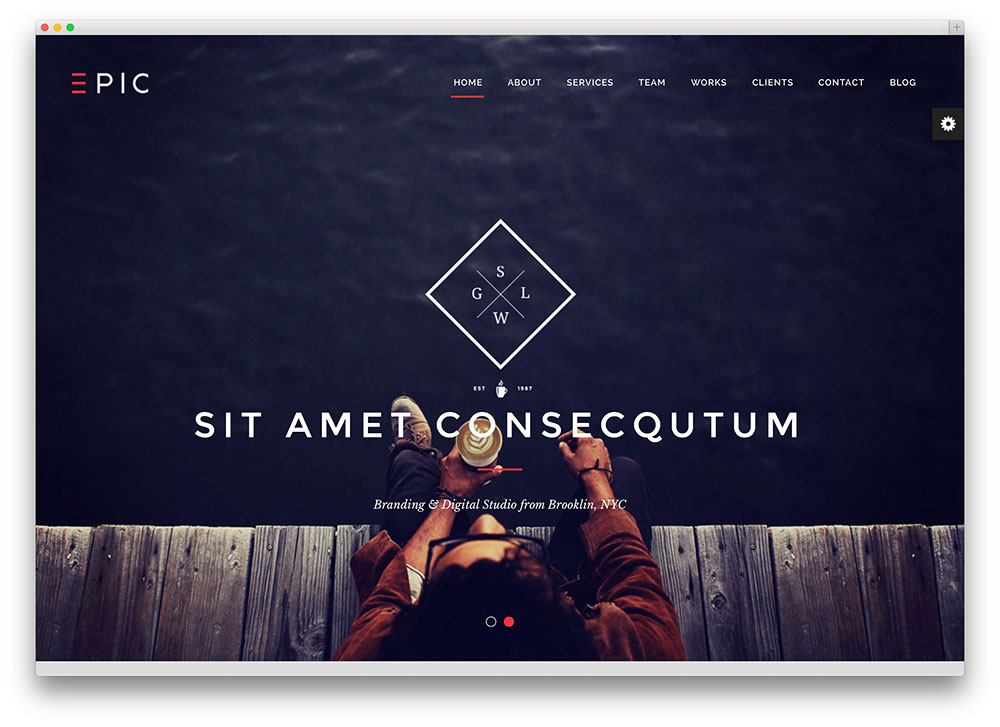 epic - multipurpose one page theme
