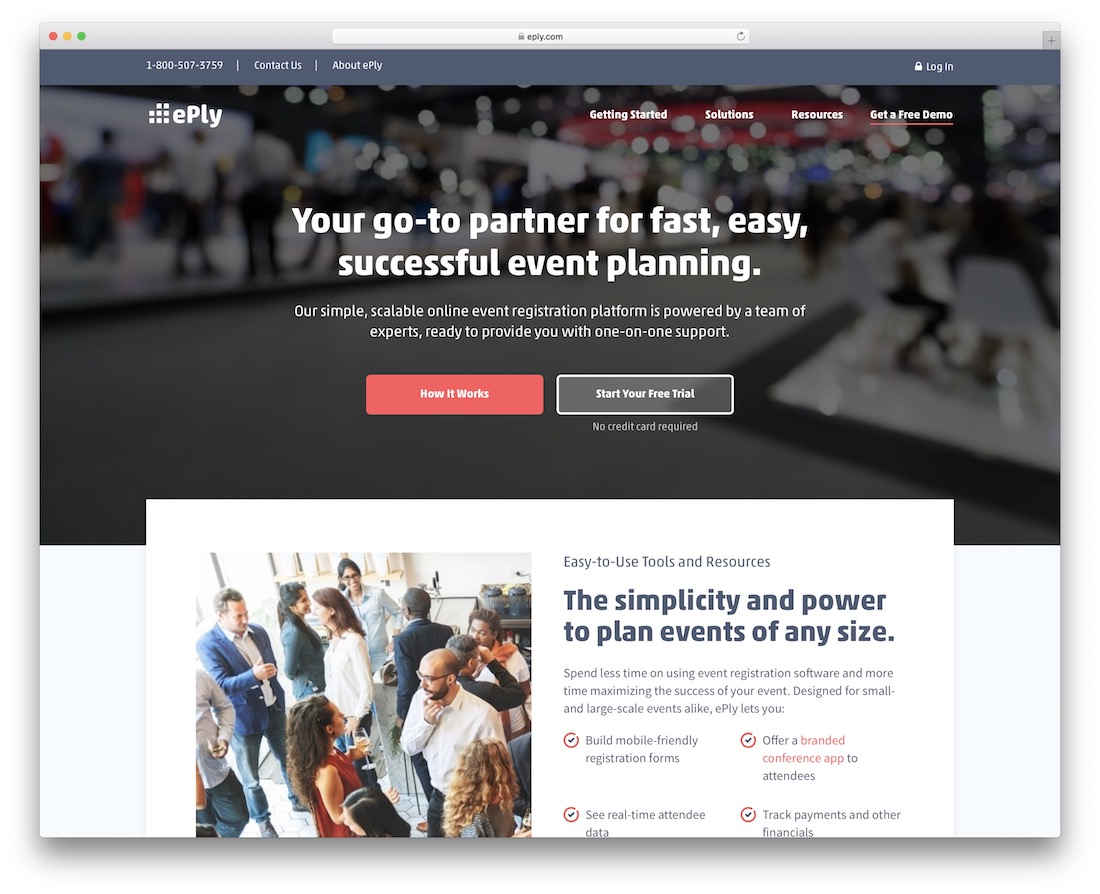 eply membership website builder