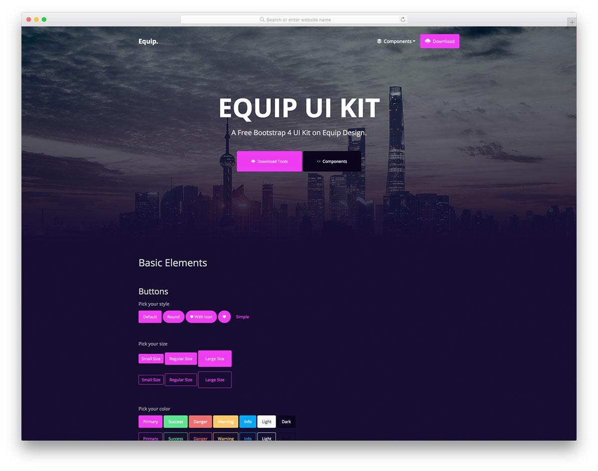 Equip UI Kit