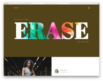 Erase Free Template