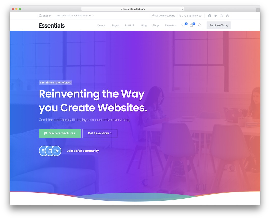 essentials wordpress theme