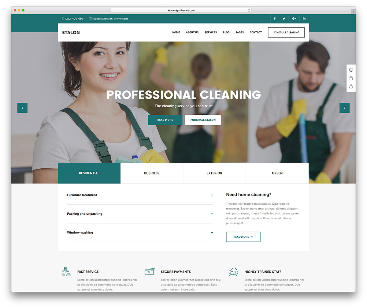 13 best cleaning company wordpress themes 2018 colorlib