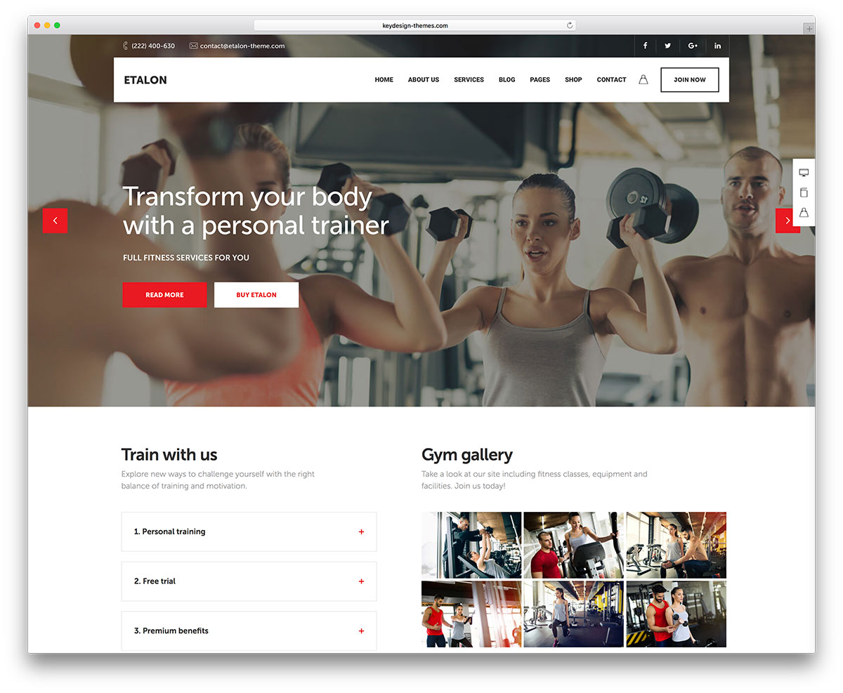 35 Best WordPress Fitness Themes 2018 For Gym and Fitness Centers ...