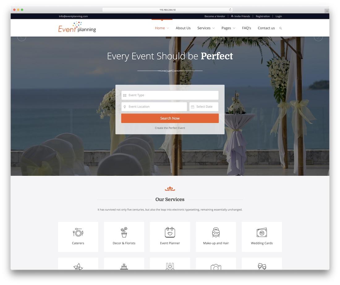 24 Best Responsive Event Website Templates 2019