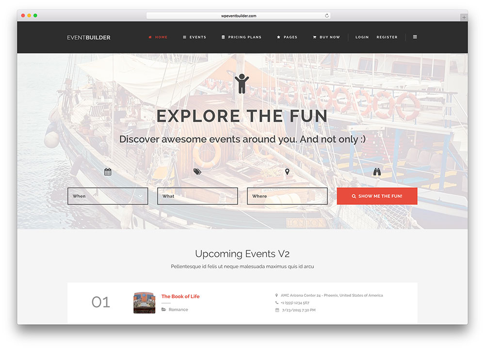 eventbuilder-multipurpose-event-directory
