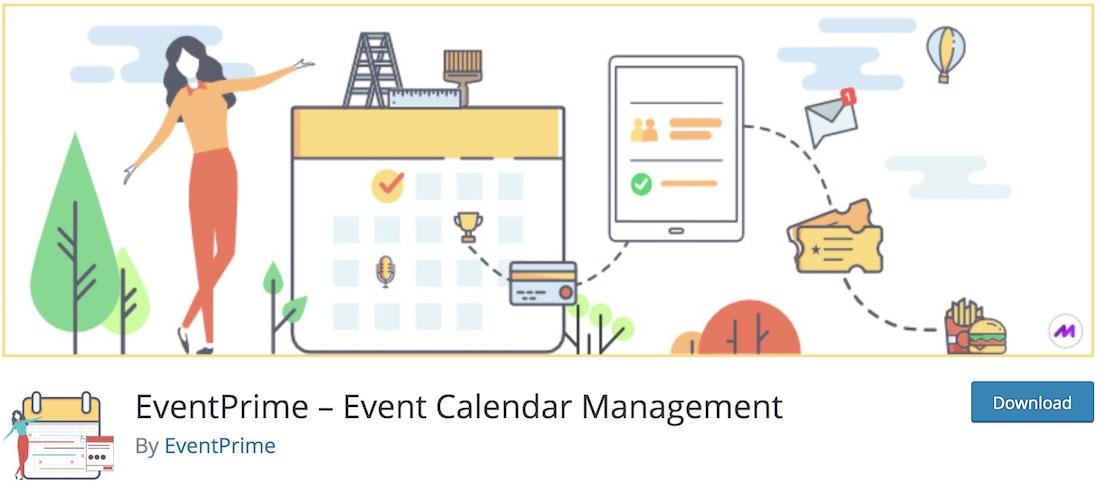 eventprime event calendar plugin