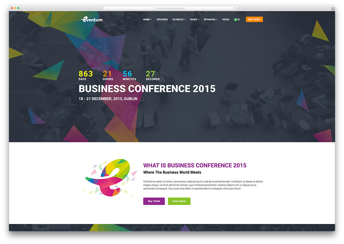 30+ Awesome WordPress Themes for Conference and Event 2018