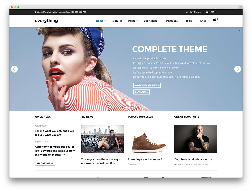 everything WooCommerce theme