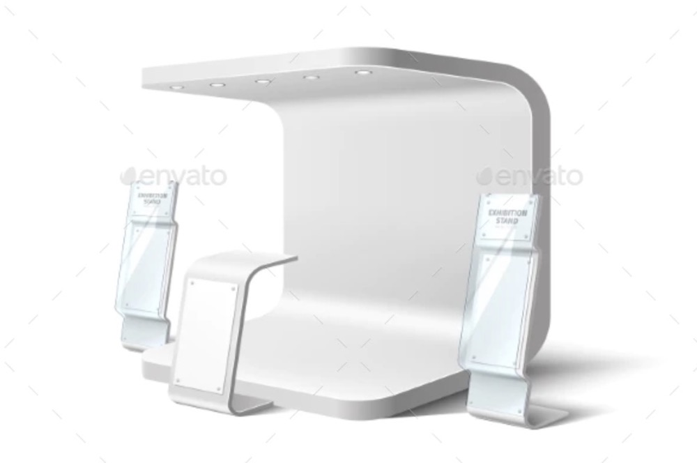 exhibition stand business expo mockup