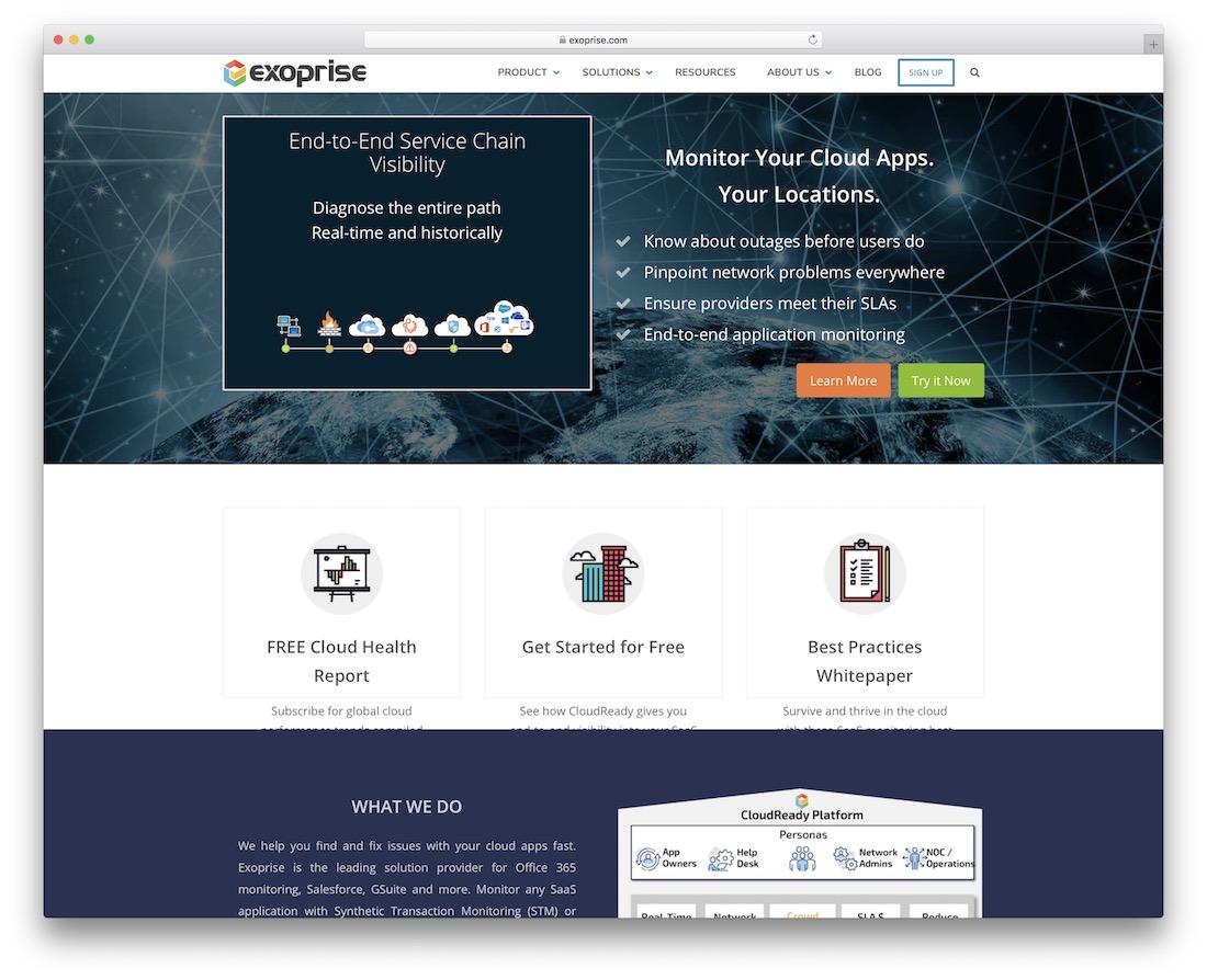 exoprise monitoring tool