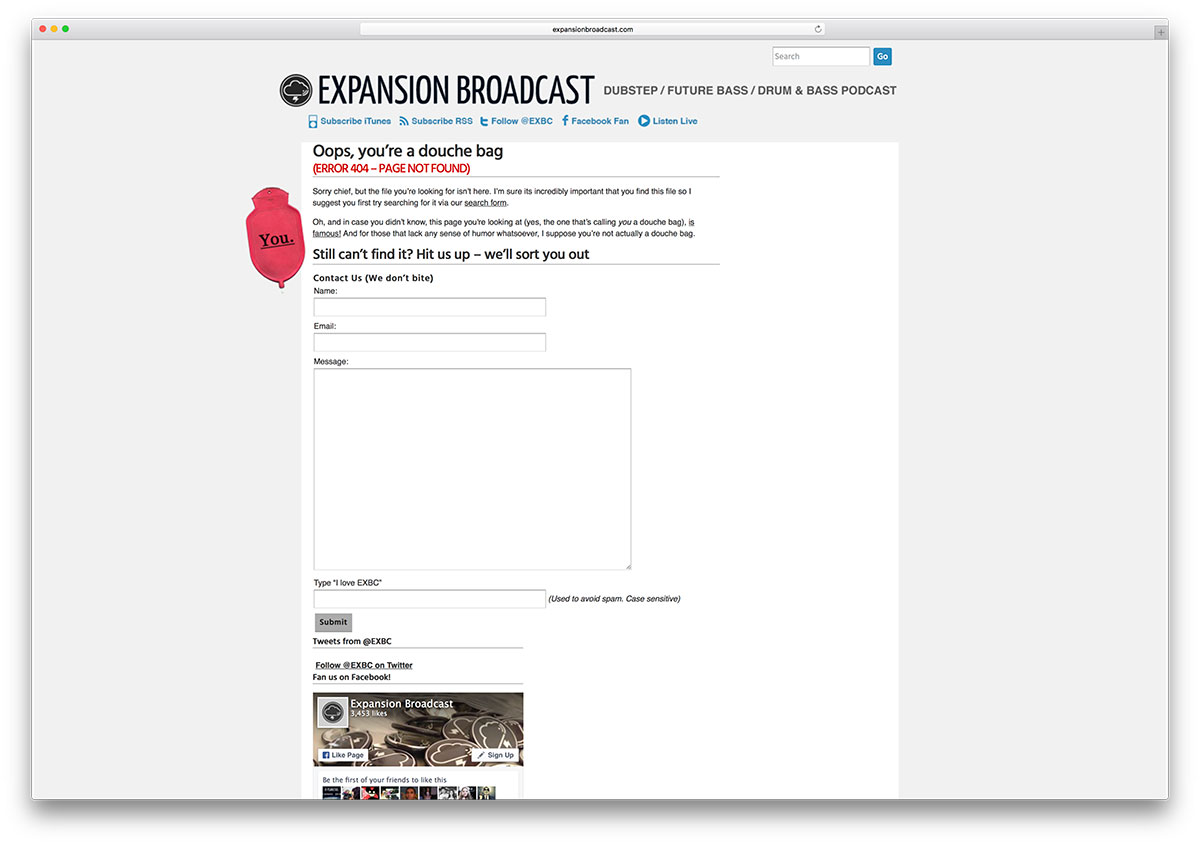 expansionbroadcast-error-page-example