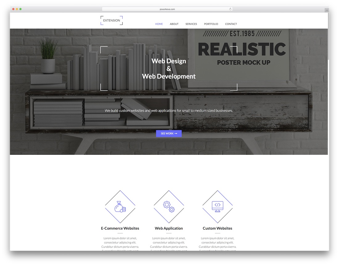 24 Creative Adobe Muse Templates For Stunning Websites 2019