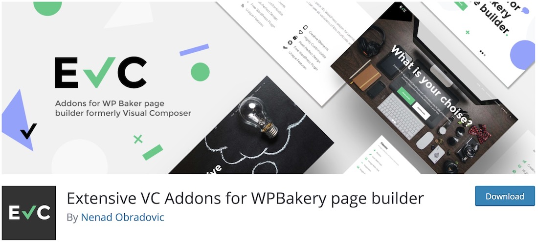 extensive vc addon wpbakery extension