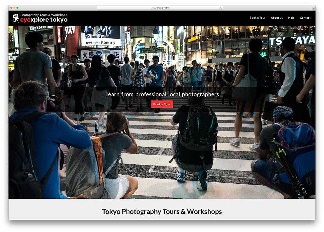 eyexploretokyo-photography-woocommerce-site-example