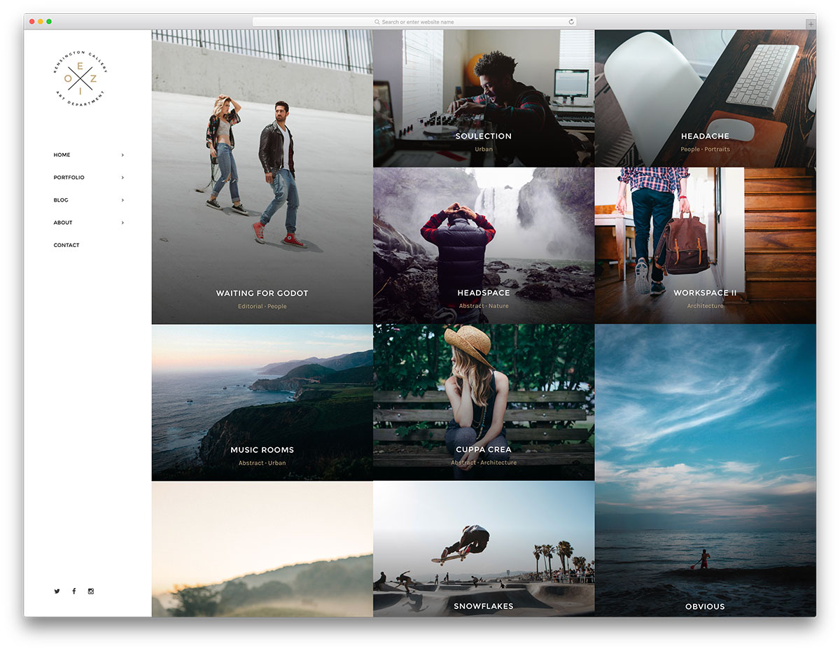 23 Awesome WordPress Gallery Themes 2018 - Colorlib