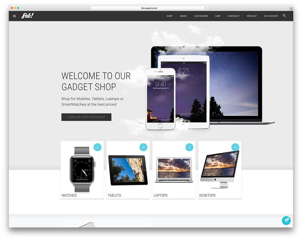 fab-gadget-ecommerce-website-template
