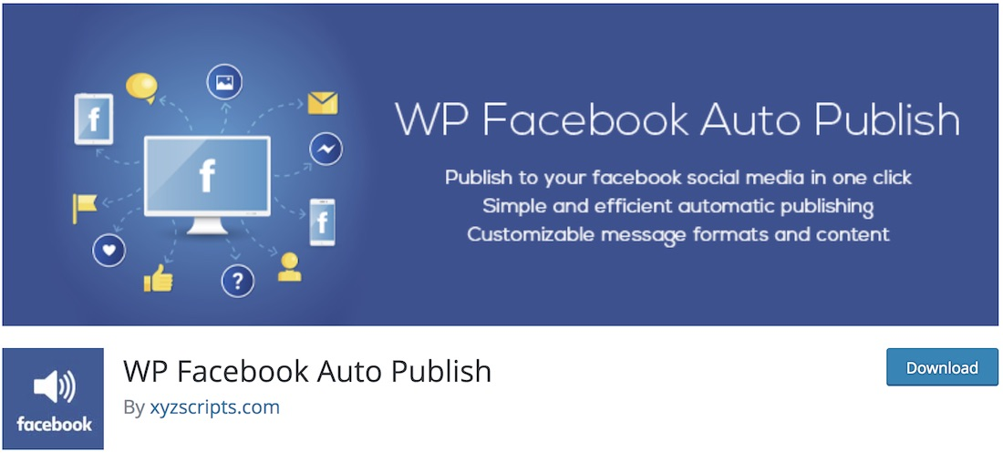 facebook auto publish wordpress plugin