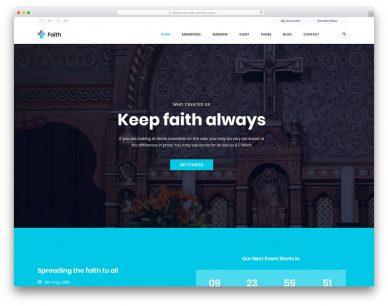 Faith Free Template