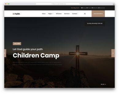Faith2 Free Template