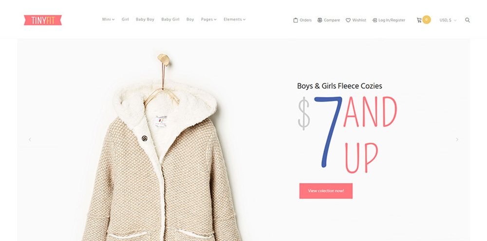 Kids Fashion WooCommerce Theme