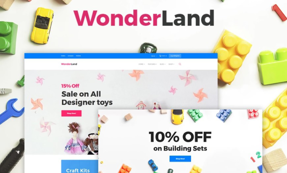 Toy Store WOOCommerce Theme