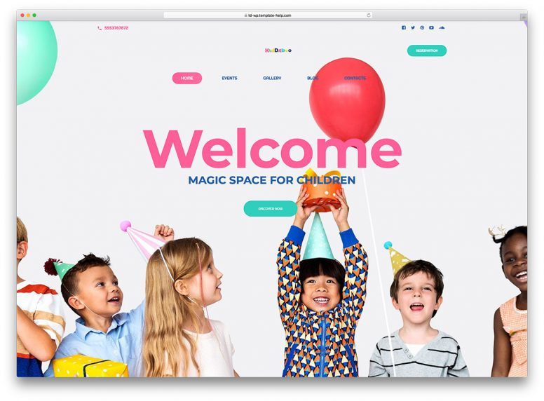 Feel The Coziness Online: 15 Family Website Templates To Suit Every Taste