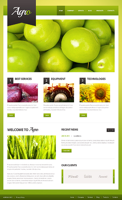 30 Best Farming Amp Agriculture Wordpress Themes 2017