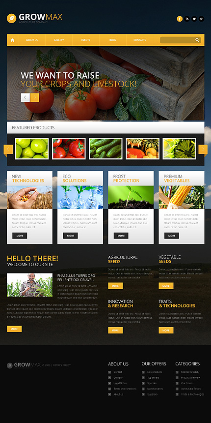 30 best farming & agriculture wordpress themes 2015