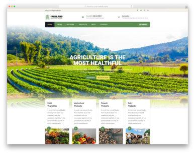 Farmland Colorlib Template