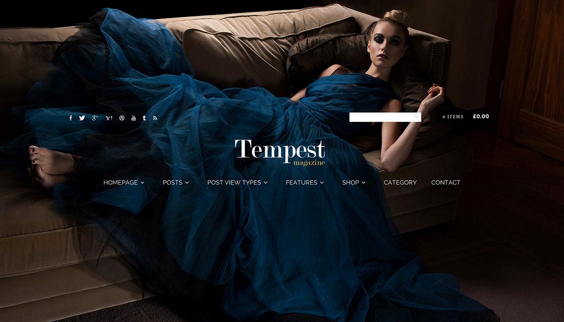 20 Best Fashion Blog, Magazine, ECommerce And Photography WordPress Themes 2015