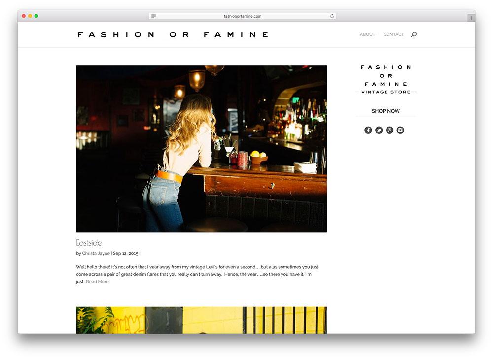 fashionorfamine-simple-fashion-blog-using-wordpress-divi