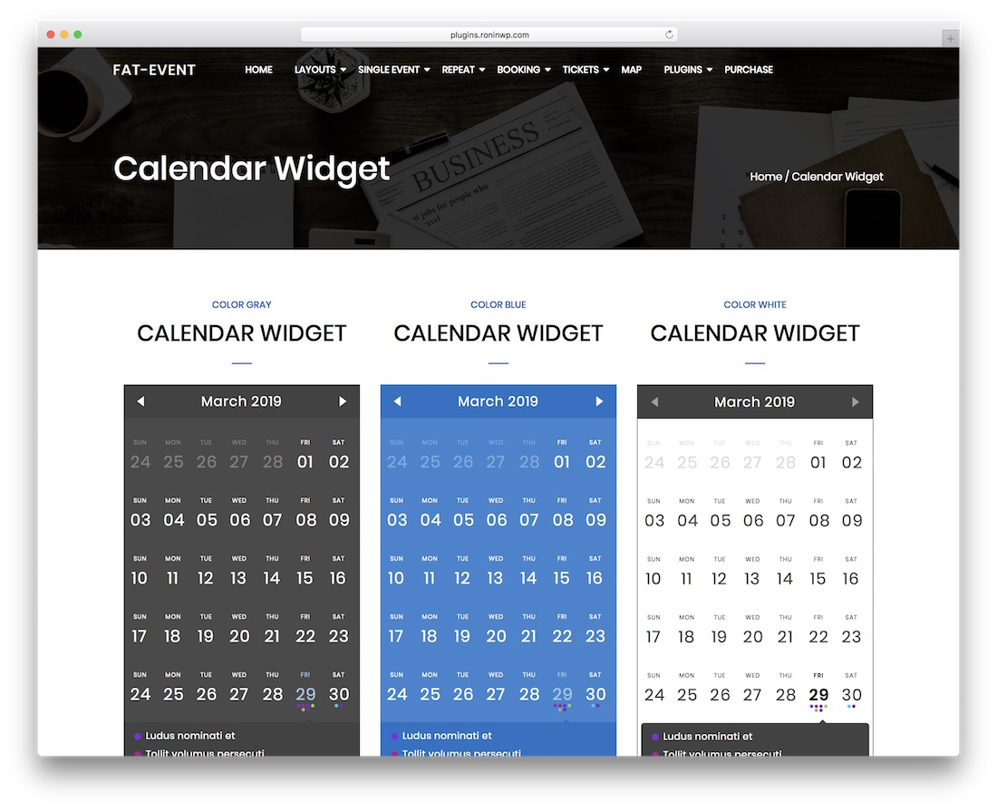 fat event wordpress event and calendar booking plugin